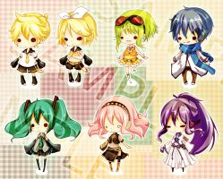 Vocaloid family by FLAFLY