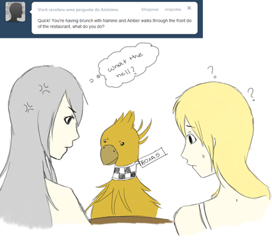 Ask (Chocobo) Roxas 20 by MarquesD