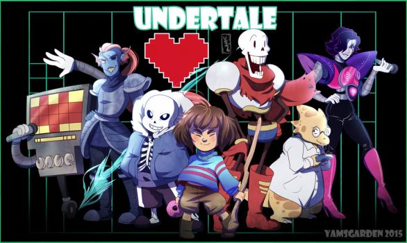 Undertale by YAMsgarden