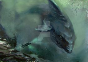 Megalodon by 3spacial
