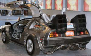 Back To The Future Delorean by Lunapic