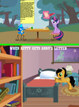 Andy Writes Kitty a Letter by Eli-J-Brony