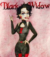 Black Widow by LuckyJokerPOP