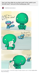 Question Answered  HUNT by CrazyIguana