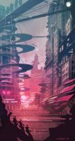 Future City Speed by Sarafinconcepts
