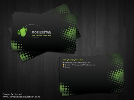 Mobilestan Business Card by HAMEDESIGN