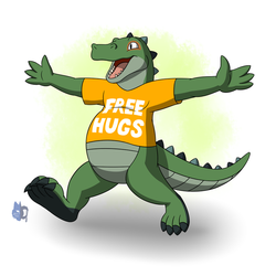 Free Hugs! by Bleuxwolf