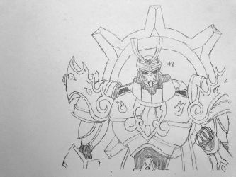 Digimon Sketch Challenge: Day #8 by Omnimon1996