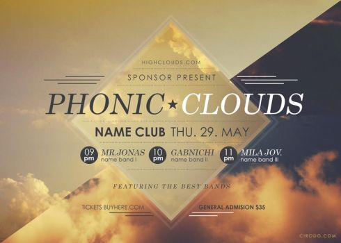 Phonic Clouds by CIROdg