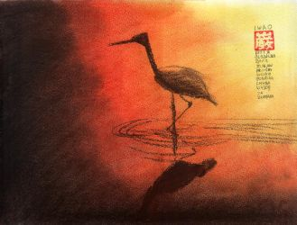 Heron from the polish fairy tale by WiorkaEG