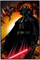 Darth Vader by ScottLewisART