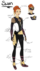 YJ: Swan redesign by Kaitie1543
