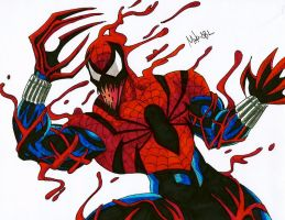 Spider Carnage by MikeES