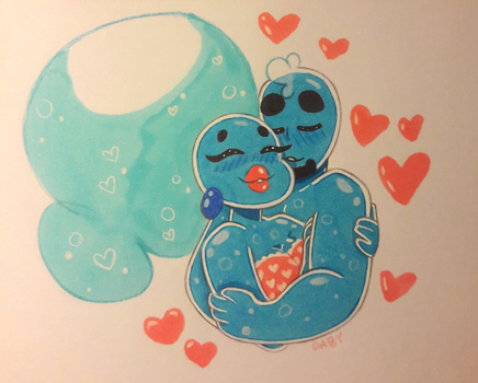Sweet Lil Cells In Love by ADHDtrooper