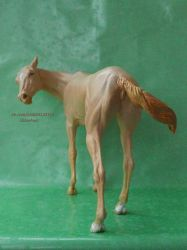 the Akhal-Teke Mare by ElizavetaGorojankina