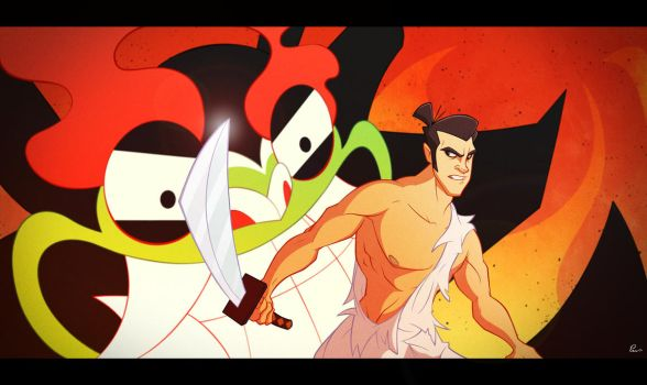 Samurai Jack by Phil-Crash-Murphy