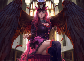 Dark Angel commission by Toshia-san