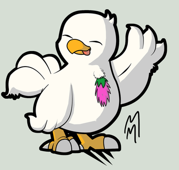 6 - Fat Chocobo by dashal