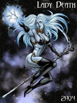 Lady Death by Candra
