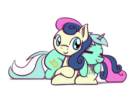 Lyra and Bon Bon Day 2017 by FlutterLuv