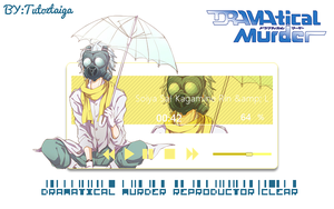 Reproductor/Xwidgets-DRAMATICAL MURDER CLEAR by tutozTAIGA