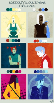 Jam: Colour Scheme Challenge by FinaBell
