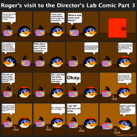 Roger's visit to the Director's Lab Comic Part 3 by Mario1998