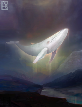 The White Whale by Ohlleen