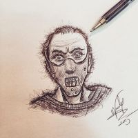 Hannibal Lecter by Nephellim