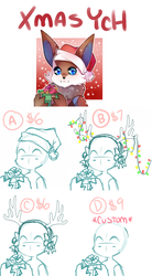 Holiday YCH Commissions (OPEN) by Sourpatchin