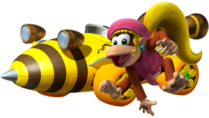 Dixie Kong by Galaxy-Afro