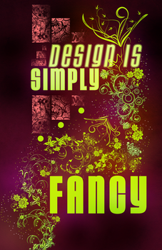 Design Is Simply Fancy by Pryanka