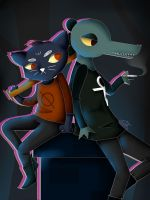 NITW: Bea and Mae by LunaOokami-22