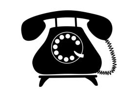 Retro-telephone-vector by superawesomevectors