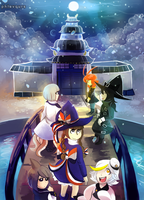 Wadanohara: Sea God Palace by phlavours