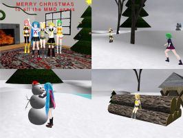 MMD - My Winter pack V2 by Wampa842