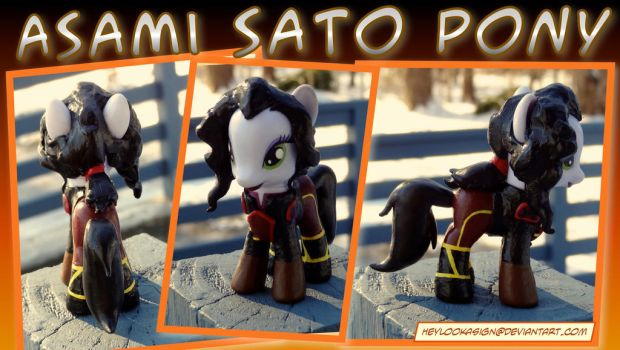 Asami Sato Pony by HeyLookASign