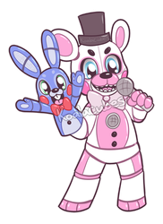 Funtime Freddy by Amberlea-draws