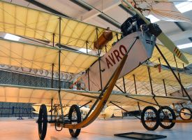 Avro Triplane IV by Daniel-Wales-Images