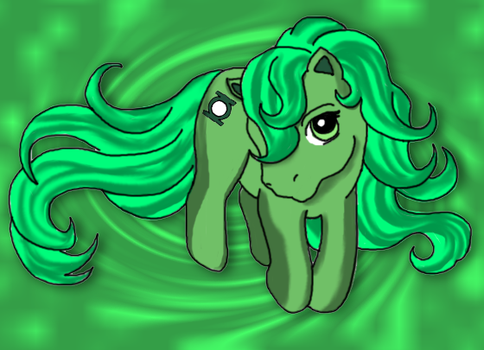 Green Lantern My Little Pony by airlobster