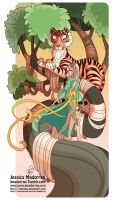 Tree Lady - Year of the Tiger by MeoMai