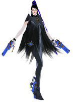 Bayonetta 2 outfit with the Beehive hairstyle by artemismoonguardian