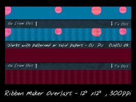 Ribbon Maker Overlay by slavetofashion69