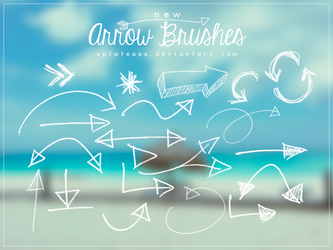 New Arrow Brushes || xPlateaux by xPlateaux