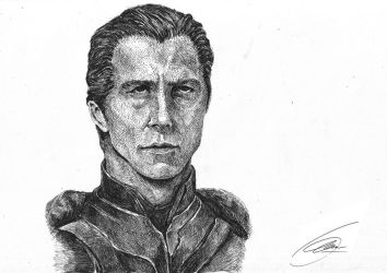 Christian Bale as Batman by alphalimasierra