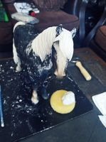 Custom Breyer Mane and Tail 2 by JenniferBee