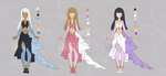 [Design] Dresses 01 [OPEN] by KainoShu