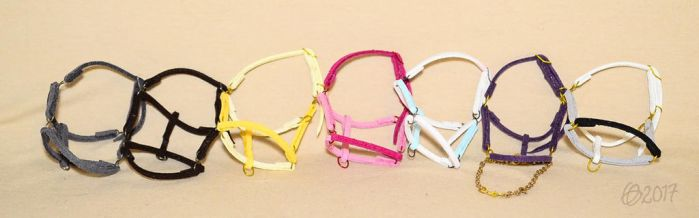 Colorful halters by Afuze