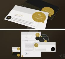 Style Corporate Identity by design-on-arrival