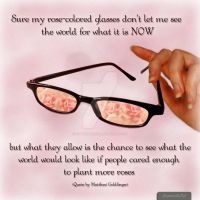Rose-colored Glasses by capturedbykc